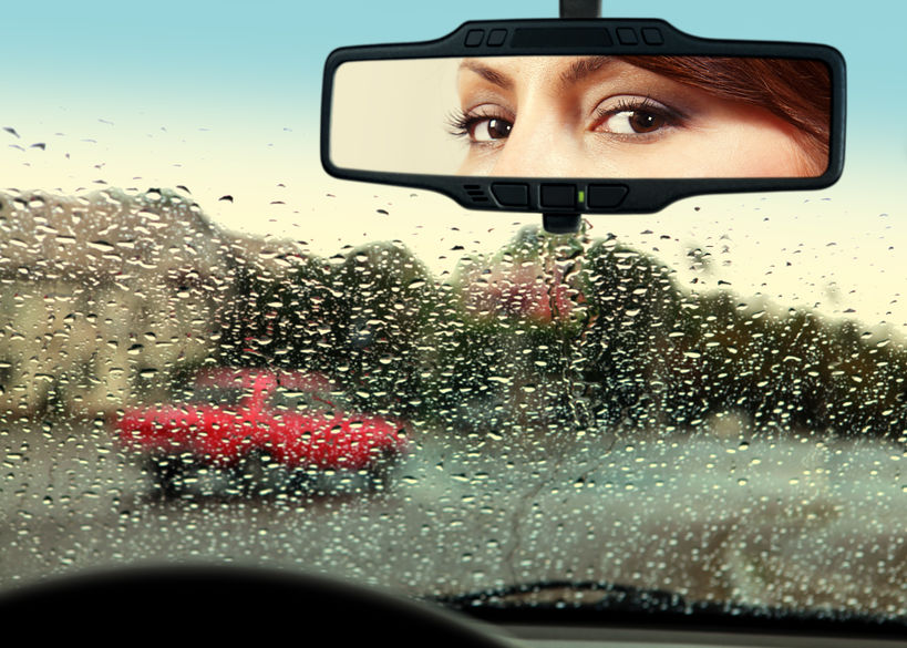 Help! I'm Living My Life Looking Through The Rearview Mirror