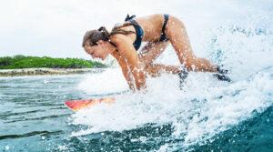 Confident Surfer
